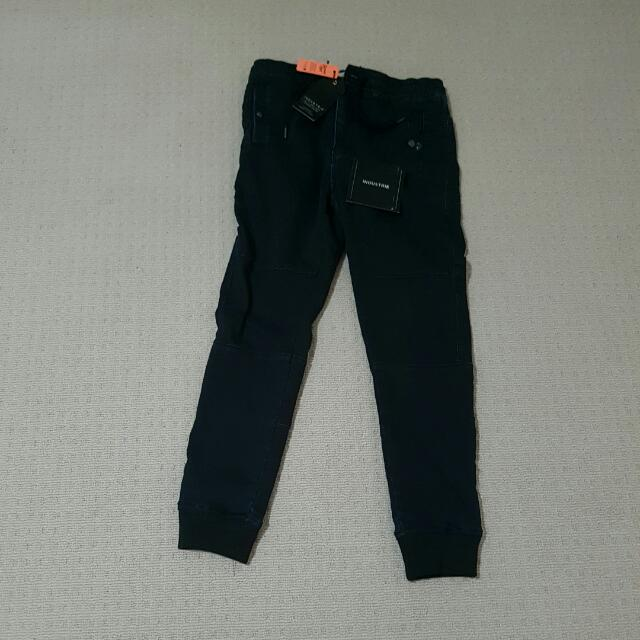 Industrie Mens Drifter Loafer Pants Tapered/cuffed 30