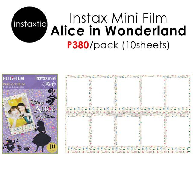 Instax Mini Film - Alice In Wonderland