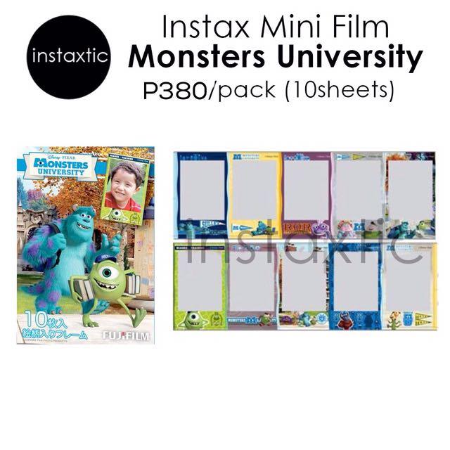 Instax Mini Film - Monsters University