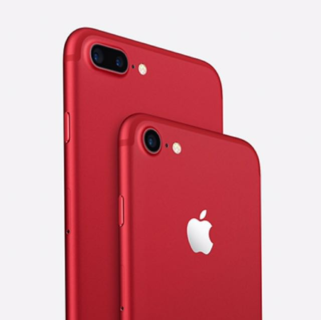 Iphone 7/7+ Red Edition