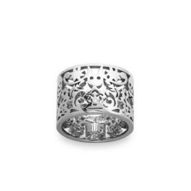 Karen Walker Large Filigree Ring
