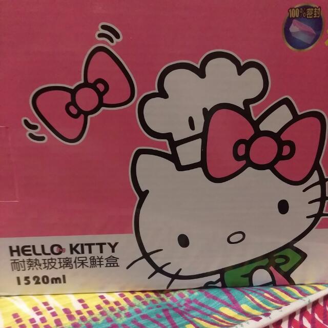 Kitty保鮮盒1520ml