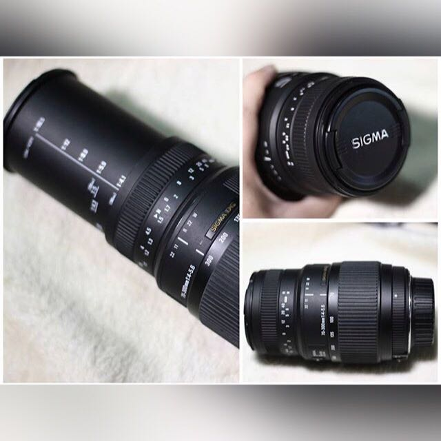 Lensa Sigma Tele