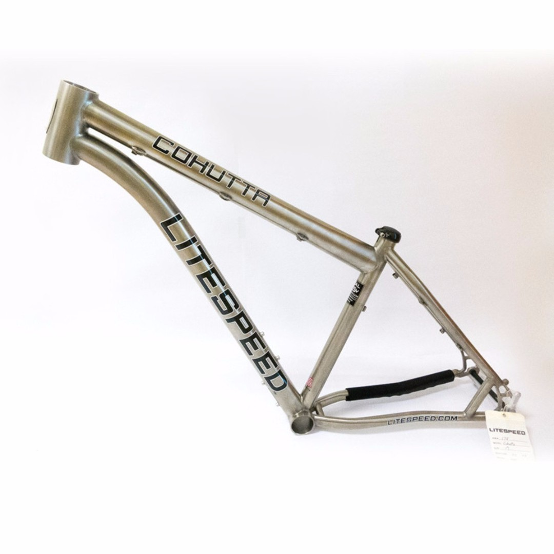 Litespeed Cohutta Titanium Frame - Med, Bicycles & PMDs, Bicycles on ...