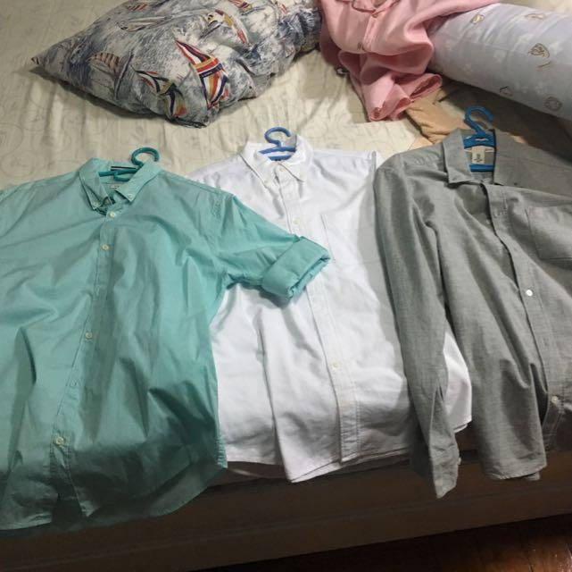 Long Sleeve Polo (Zara, H&M, Uniqlo)