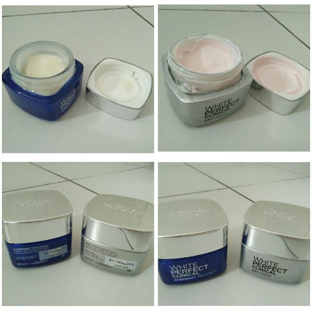 Loreal White Perfect Clinical (Day Cream, Night Cream)