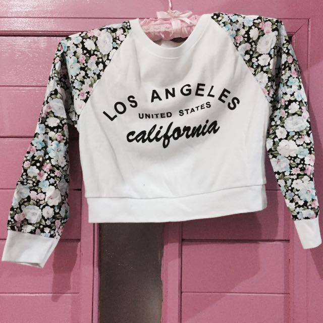 Los Angeles's crop tee