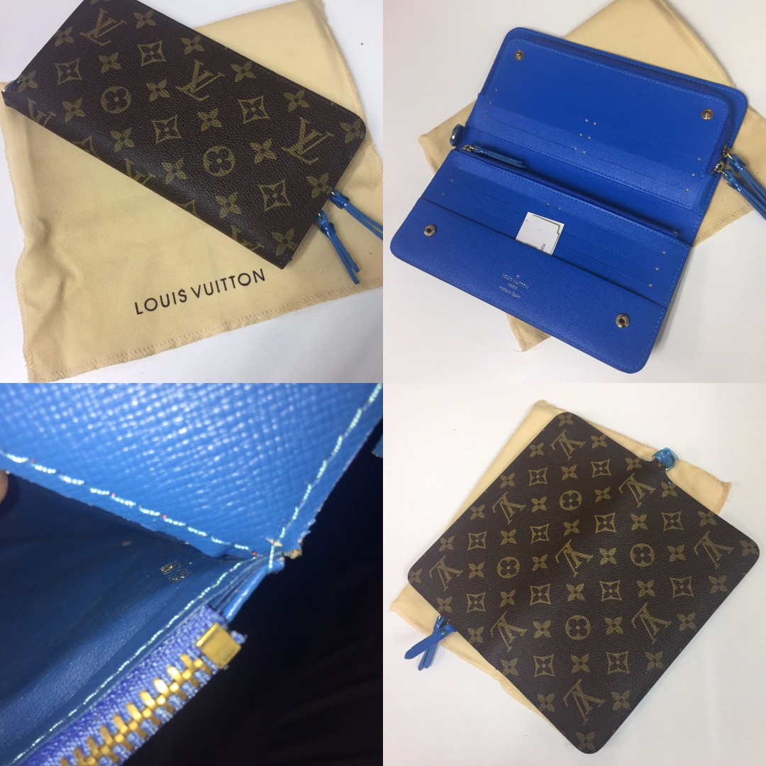 Louis Vuitton Insolite Wallet - Blue