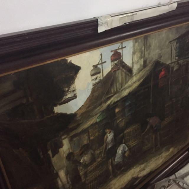 Lukisan kayu Jati