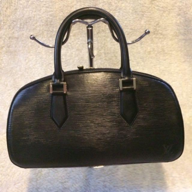 LV Louis Vuitton Jasmin Epi Black
