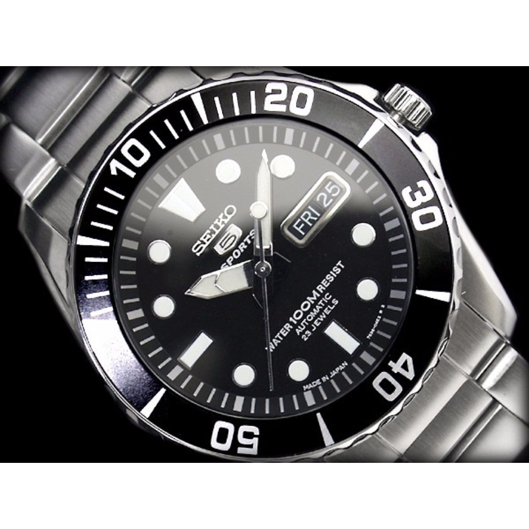 buy online 52d6a 4f866 Made in Japan* Seiko 5 Automatic Submariner Sea Urchin Watch ...