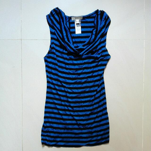 MANGO Striped Top. Size XS/S.