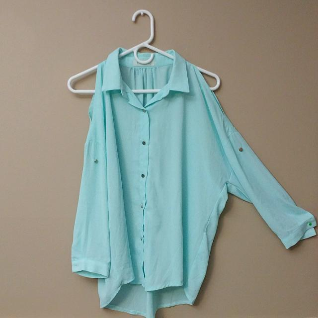 Baby Mint Blouse