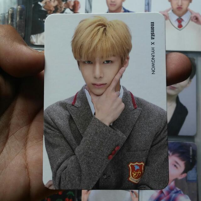 MONSTA X Rush Secret Ver. Hyungwon Official Photocard