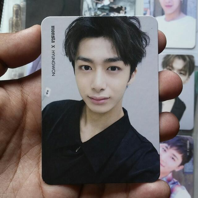 MONSTA X The Clan Part. 1 Found Ver. Hyungwon Official Photocard