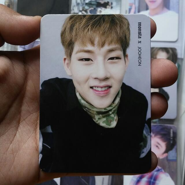 MONSTA X The Clan Part. 1 Found Ver. Jooheon Official Photocard