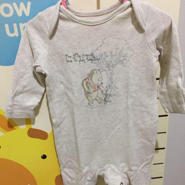 Mothercare Winnie The Pooh Sleepsuit Series