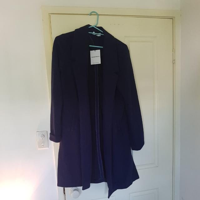 Navy Coat Large (Size 12-14)