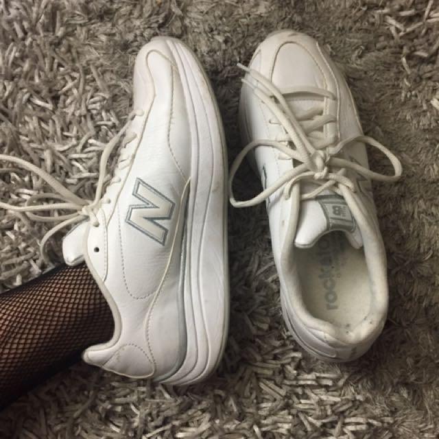New Balance Solid White