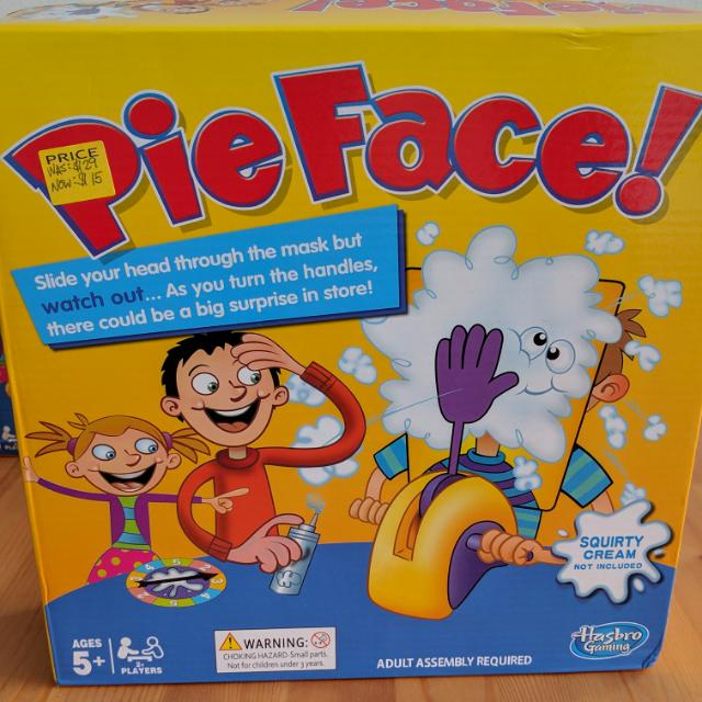 [New] Pie Face!