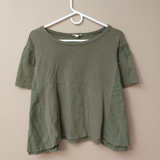 Olive Geeen Urban Outfitters Top