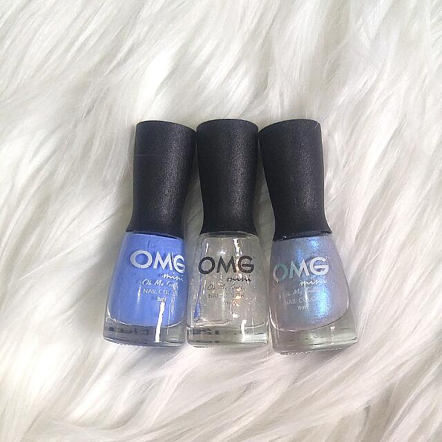 OMG Nail Color Collection Trio