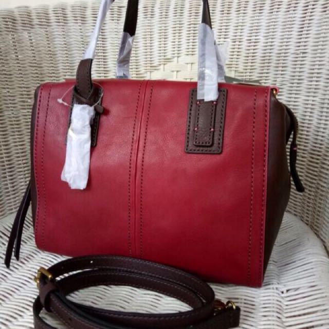 Original Fossil Emma Red Multy
