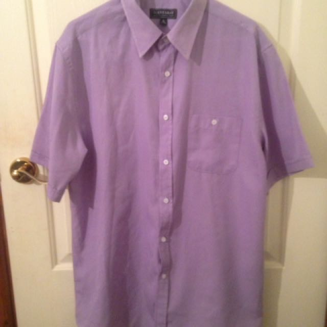 Purple Button Shirt