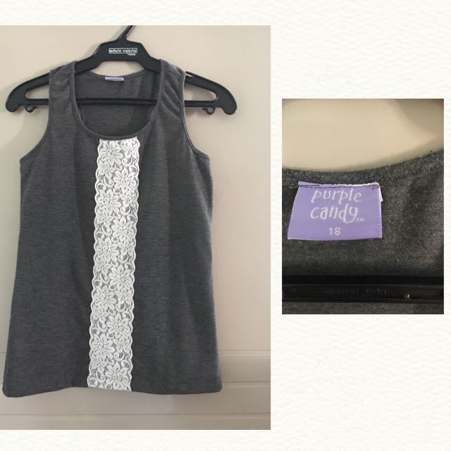 REPRICED! Purple Candy Sleeveless Top