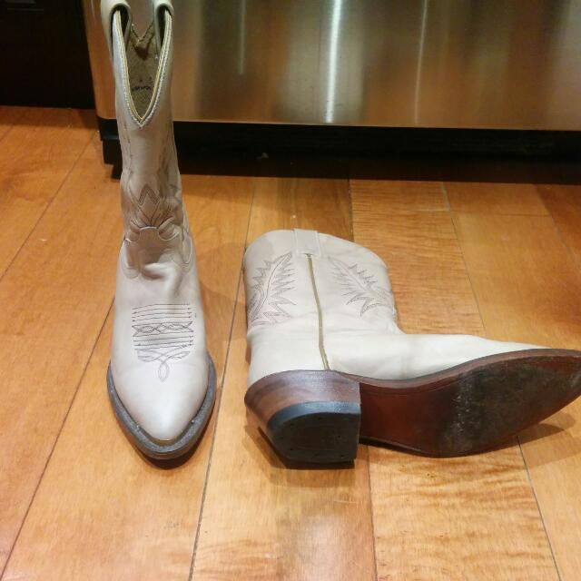 Real Cowboy Boots Size 8
