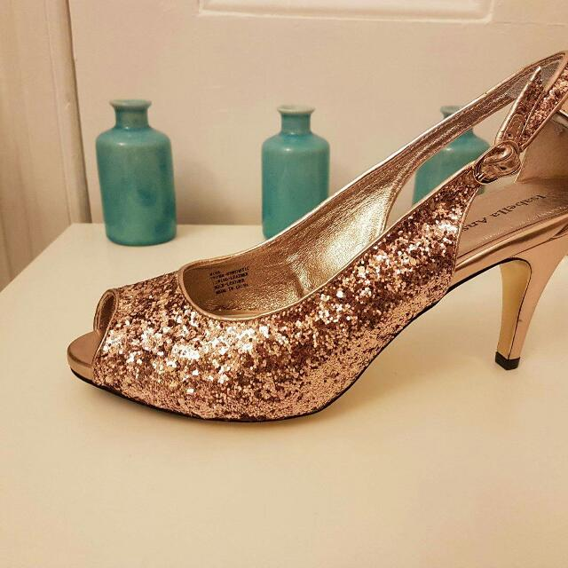 Roes Gold Isabella Anselmi Shoes Size 10
