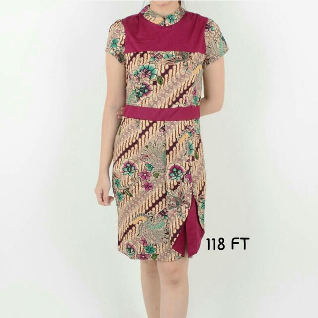 Rosifa Ucombination Dress By Clothtowear