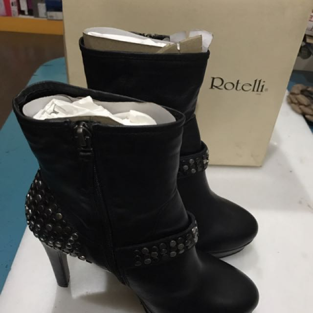 Rotelli High Boots