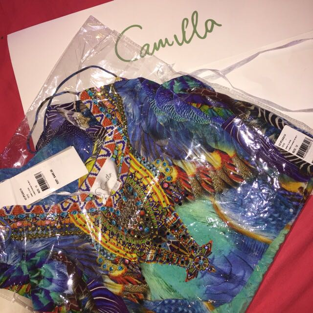 RRP$449 Brand New Camilla Playsuit
