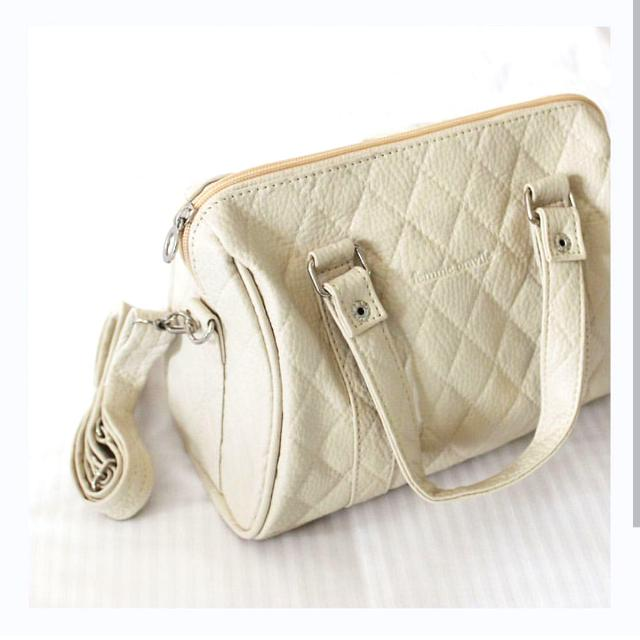 Small Sling Bag (Color : Cream)