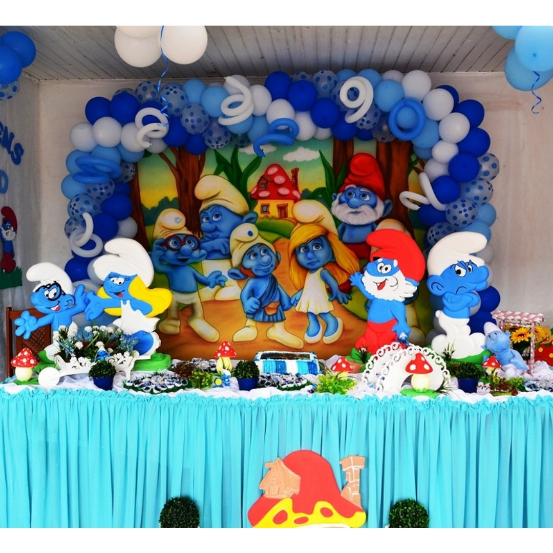 Smurfs Themed Birthday Party Party Supplies Pls Chat With