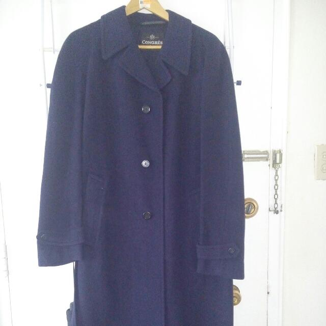 Spring Wool Coat (M/LARGE)