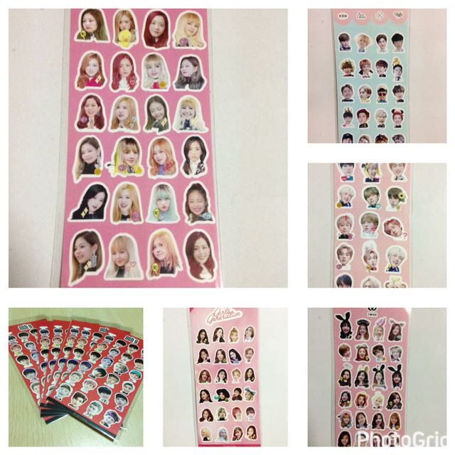 Sticker Nct Got7 Bts Twice Blackpink 42a1a58e56a2