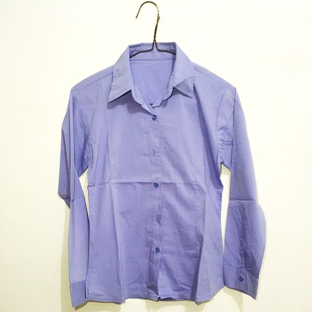 Stretch Purple Blouse