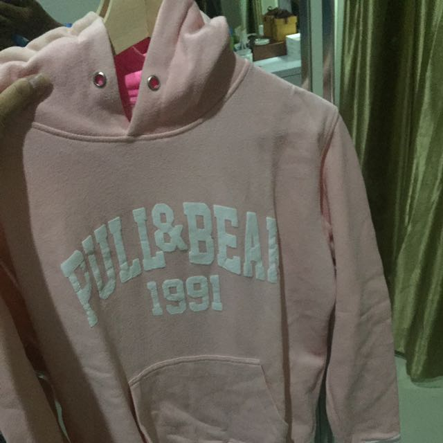 Sweater Pull Bear Pink Womens Fashion Womens Clothes On Carousell