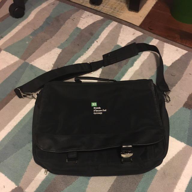 TD Bank Laptop Bag