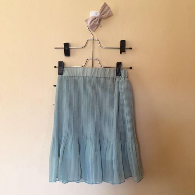 Teal Summer Skirt