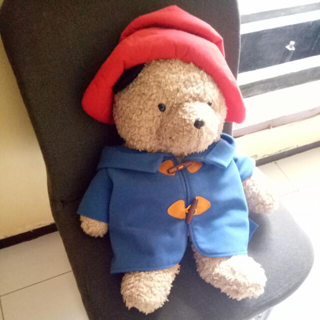 Teddy Bear 60cm.  Kondisi: 90%