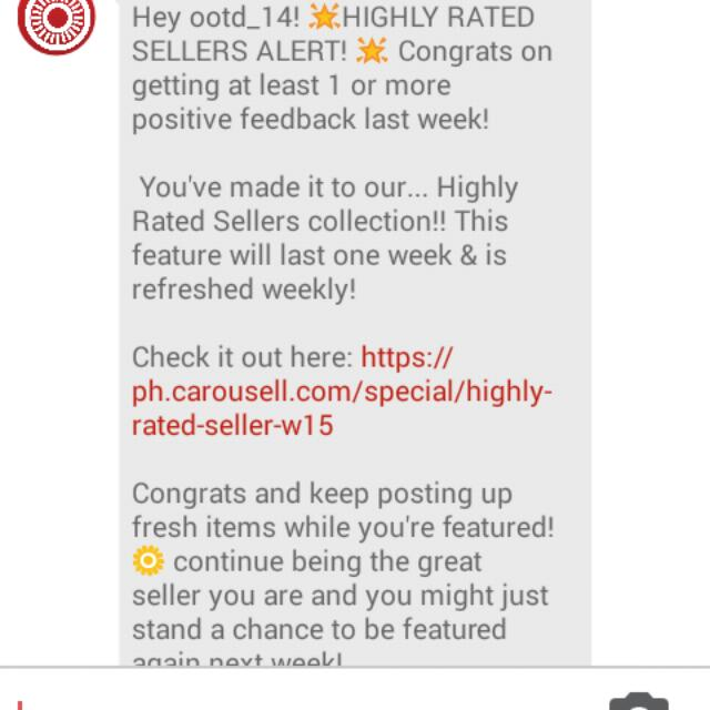 Thank You Carousell :*