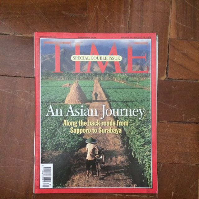 TIME Magazine August 21-28, 2000 Issue