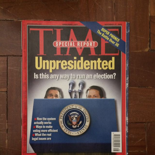 TIME Magazine November 27, 2000 Issue