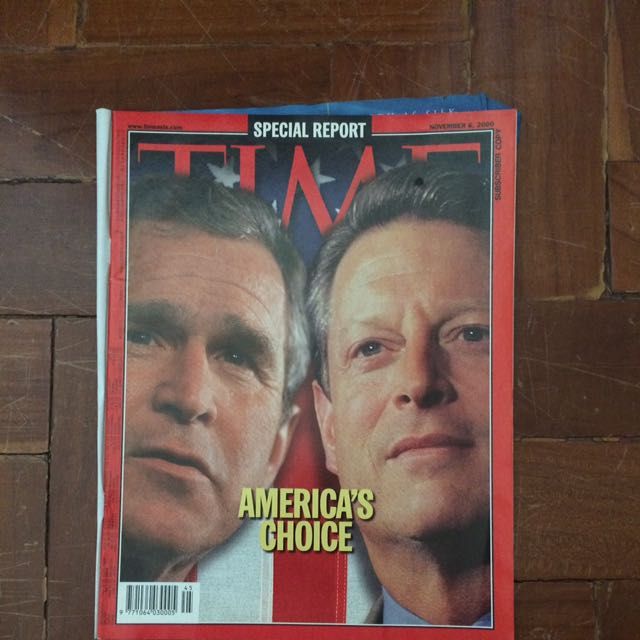 TIME Magazine November 6, 2000 Issue
