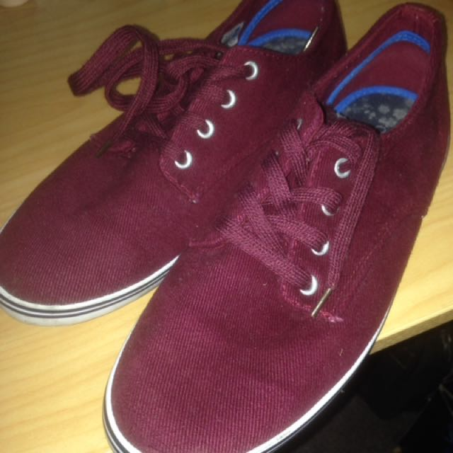 Top man Shoes Maroon Usa Size 7 EUR 40 U.K. 6