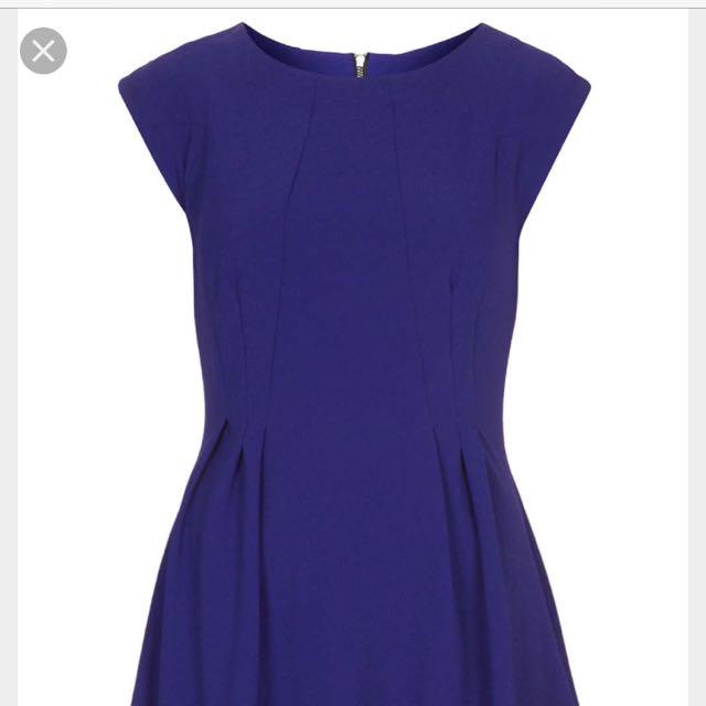 Topshop Flippy Dress Size 4