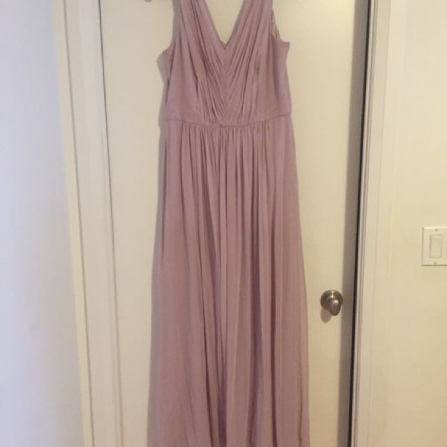 Two Matching Bridesmaid Dresses
